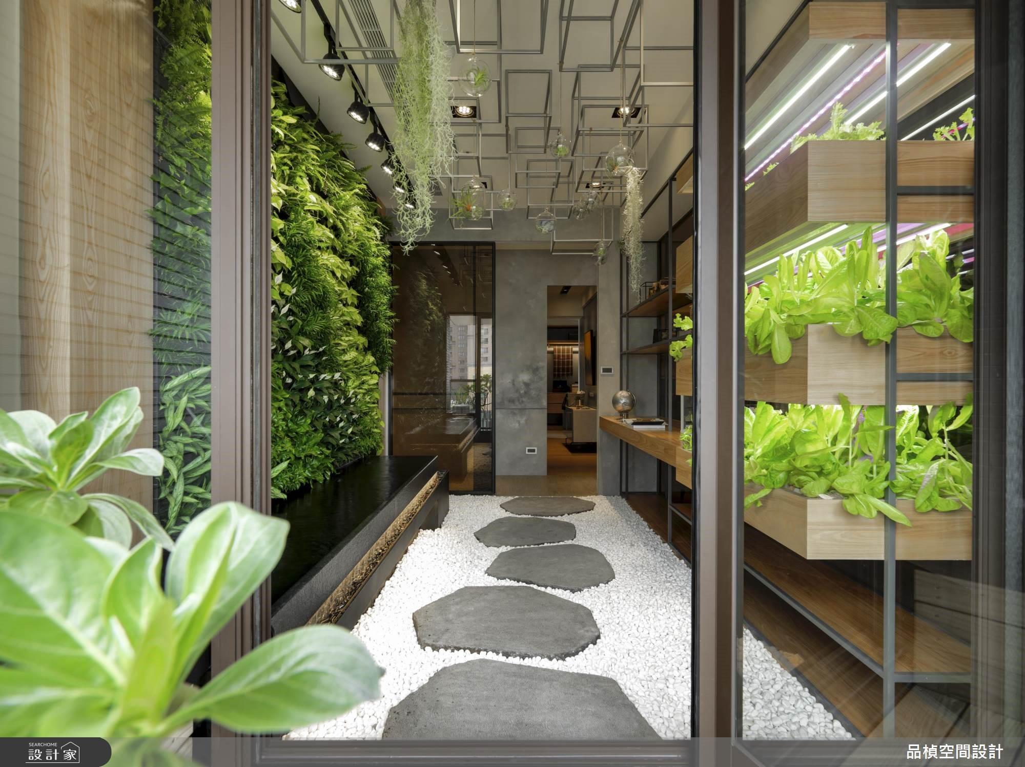 自然元素带回家,让室内充满绿意的好设计