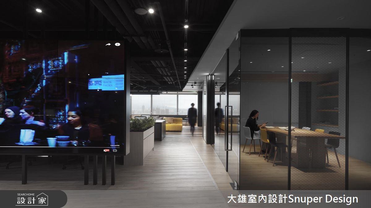 与潮流同行的办公室设计  如家亲切的氛围让工作效率激升!