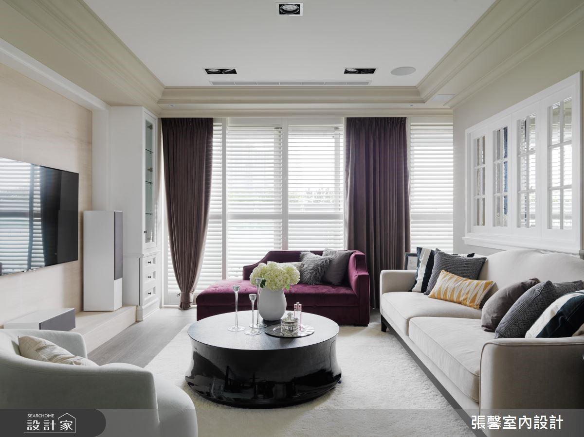 住这家都优雅起来了!158平米为您打造粉嫩美式家居