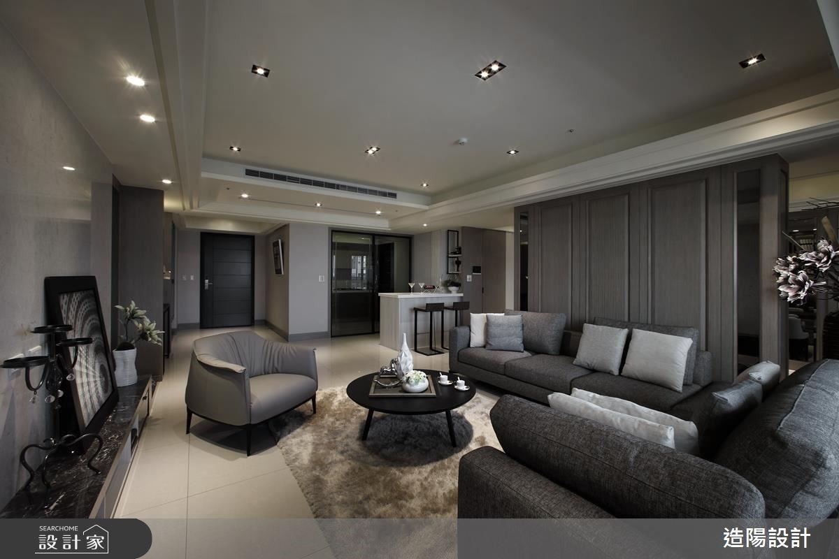 时尚、优美、有格调!精巧细致的125平米现代风大宅