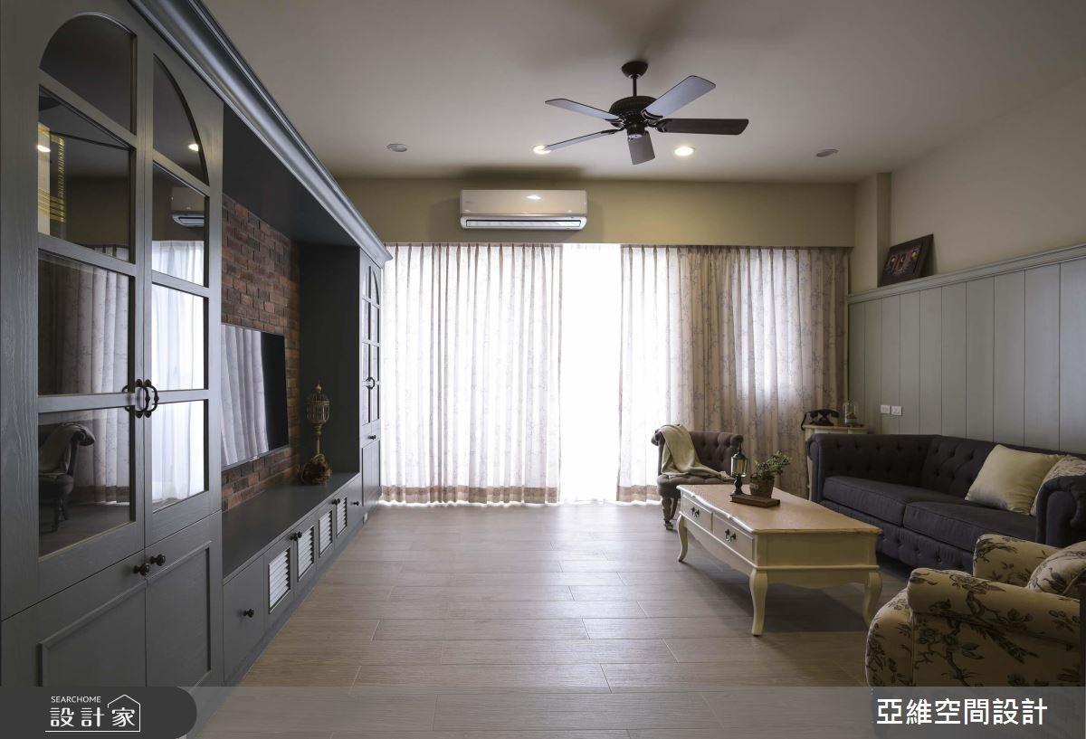 有形有色好设计,就在 248 平米乡村风质感大宅!