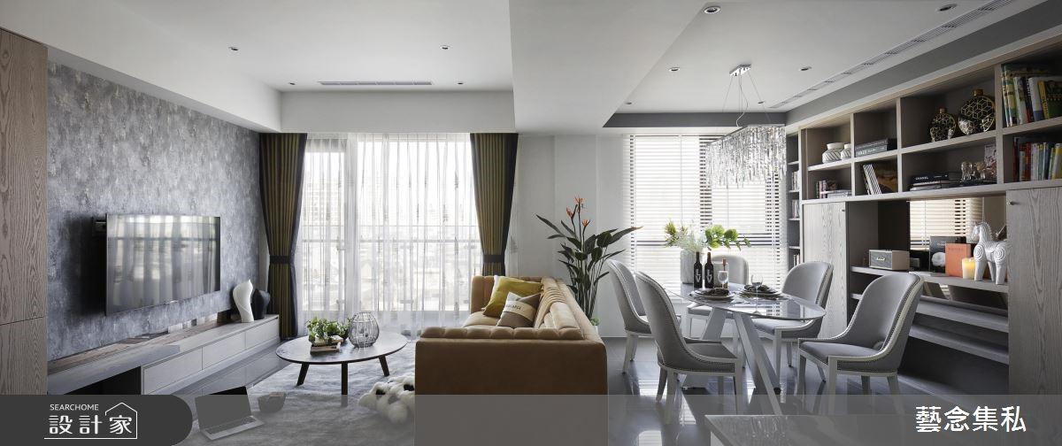 深具自信与优雅的色彩搭配,重视细节实现屋主特质的风华宅邸