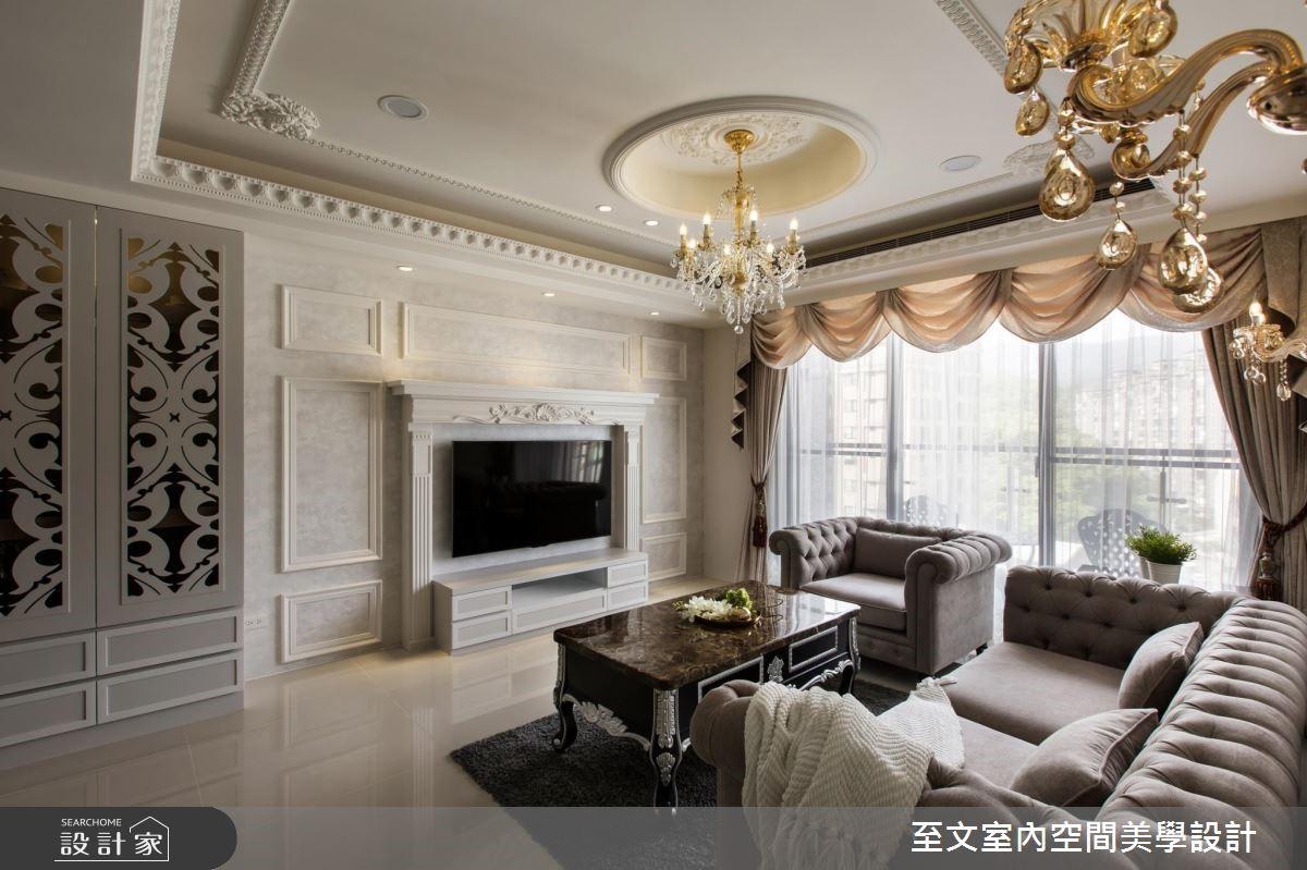华丽欧式古典打造79平米公寓!许你一间风华绝代小豪宅