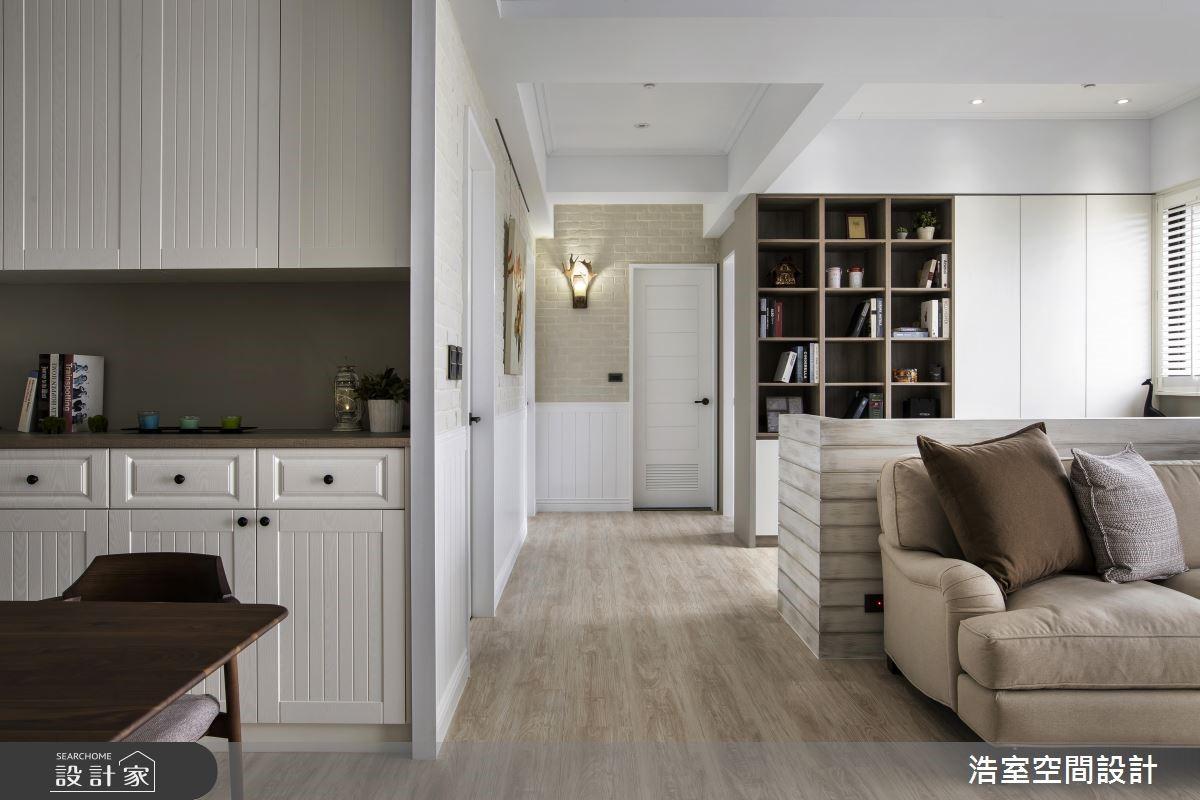 一家 3 口幸福生活提案 都在198平方米纯白美式家 !