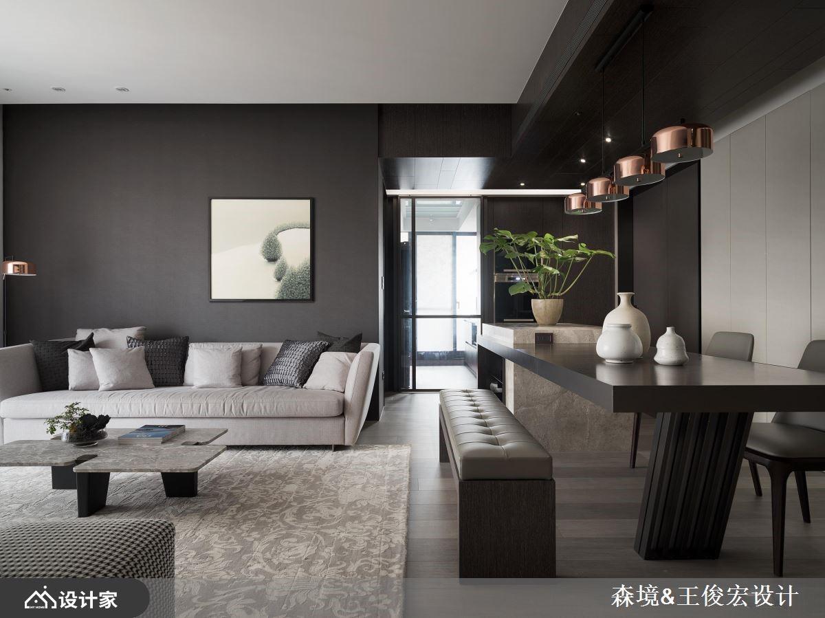 朴质现代宅 3 房变 2 房!感情加温,坪效倍增!