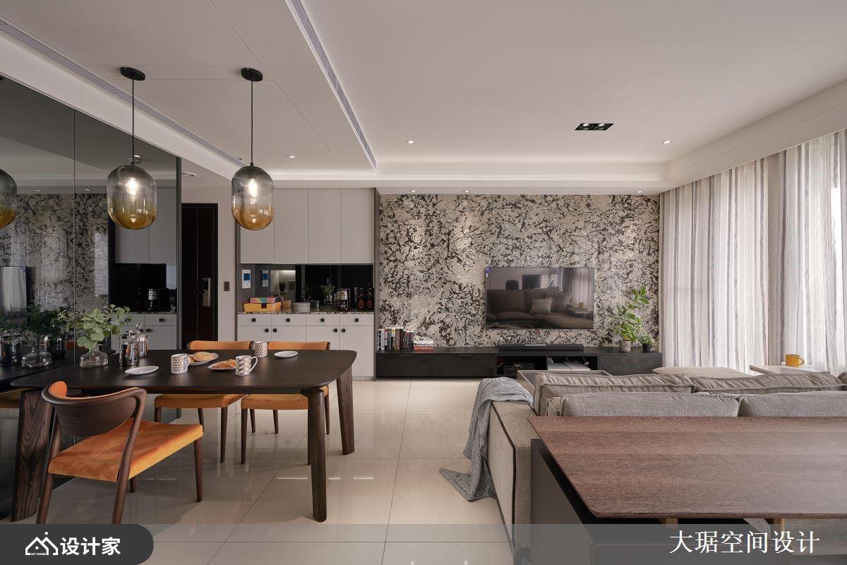 现代风三口之家,新年新气象的舒适好设计!