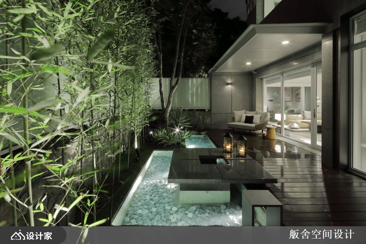 把热带景观搬进室内!5 层楼现代风豪邸绿意丛生