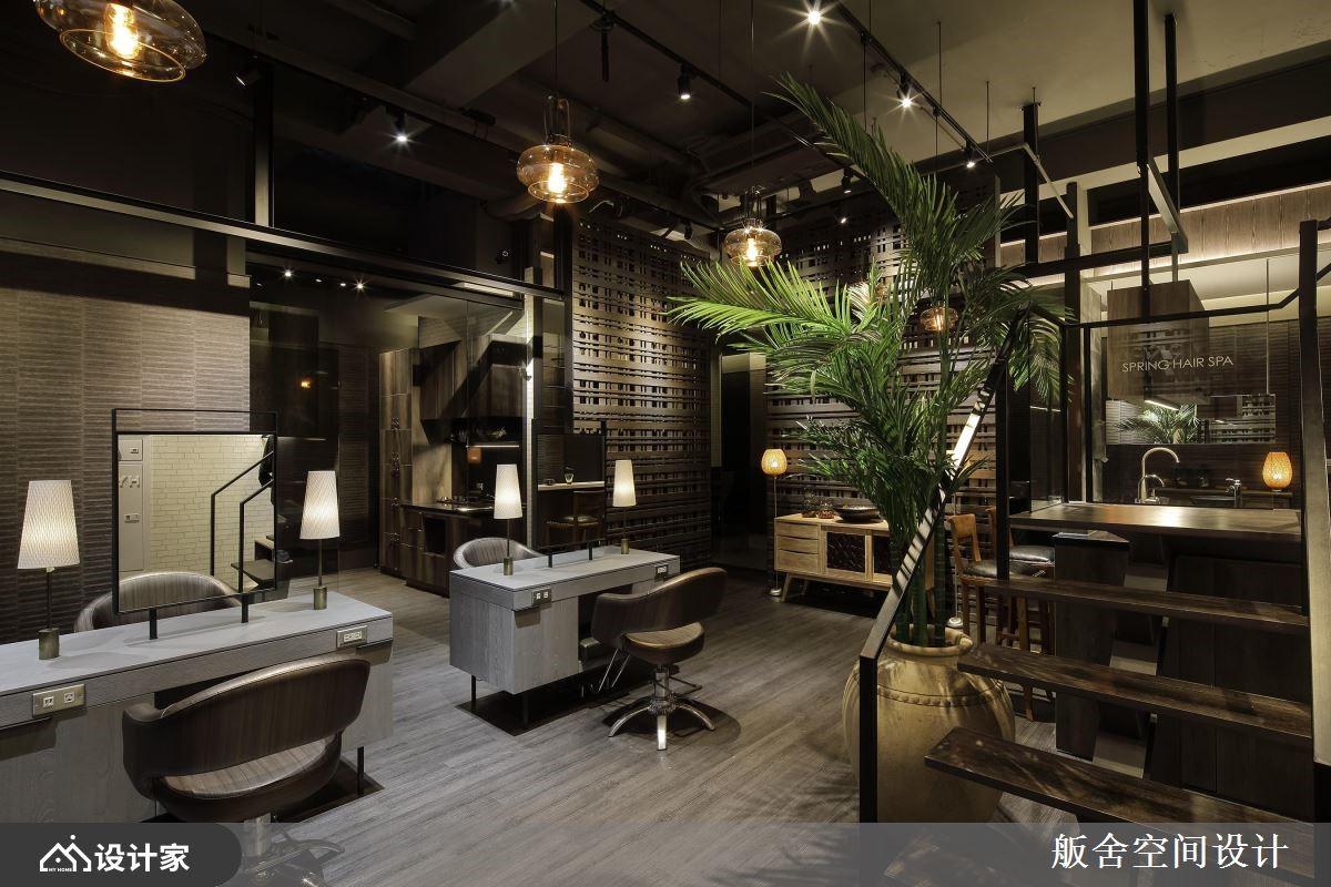 老屋变身特色空间!欢迎光临巴厘岛式的丛林美发店