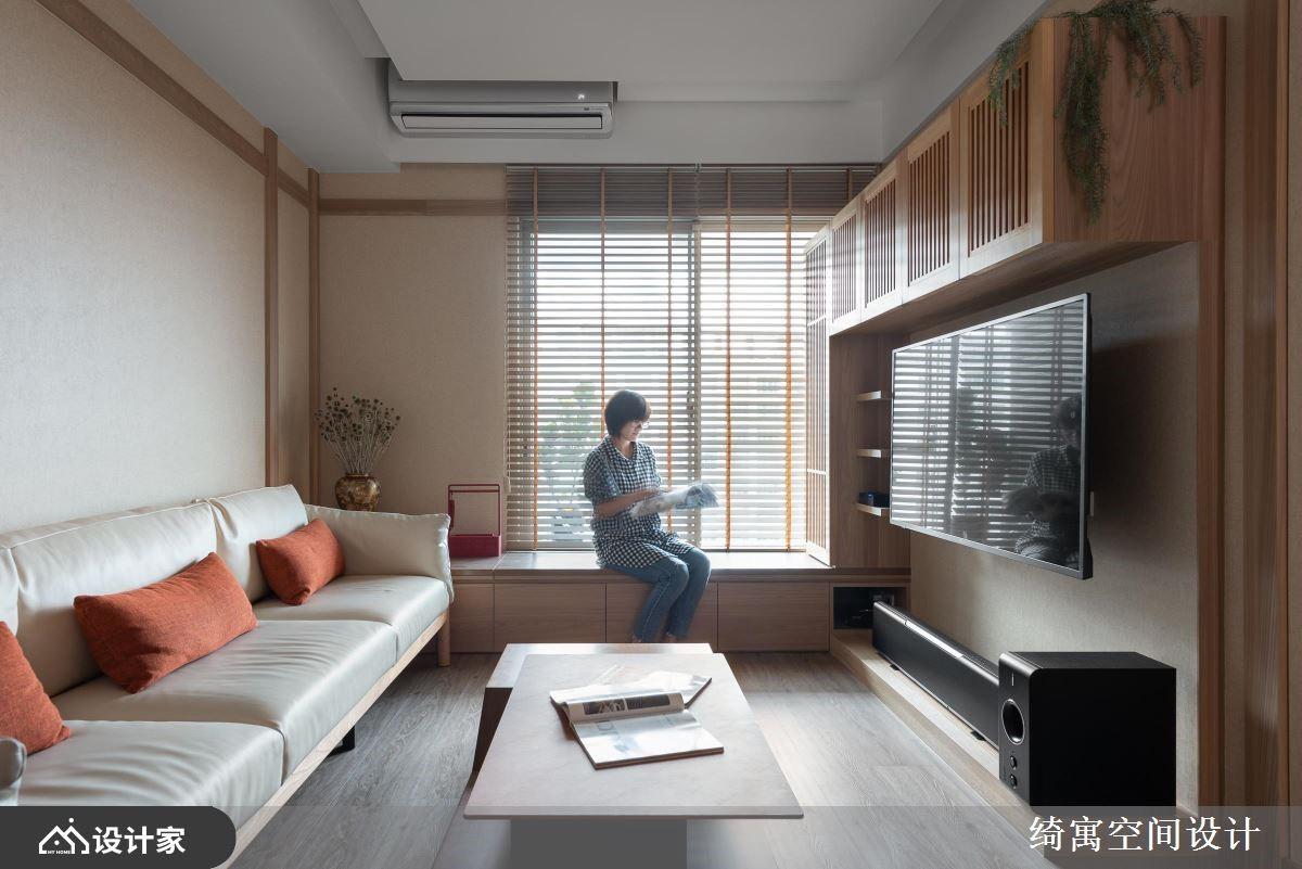 马克杯墙的桧木香气!充满旅行回忆的日式退休宅