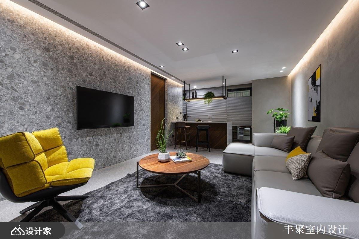 两个客厅+美形收纳!现代风新婚大户型帮你圆梦