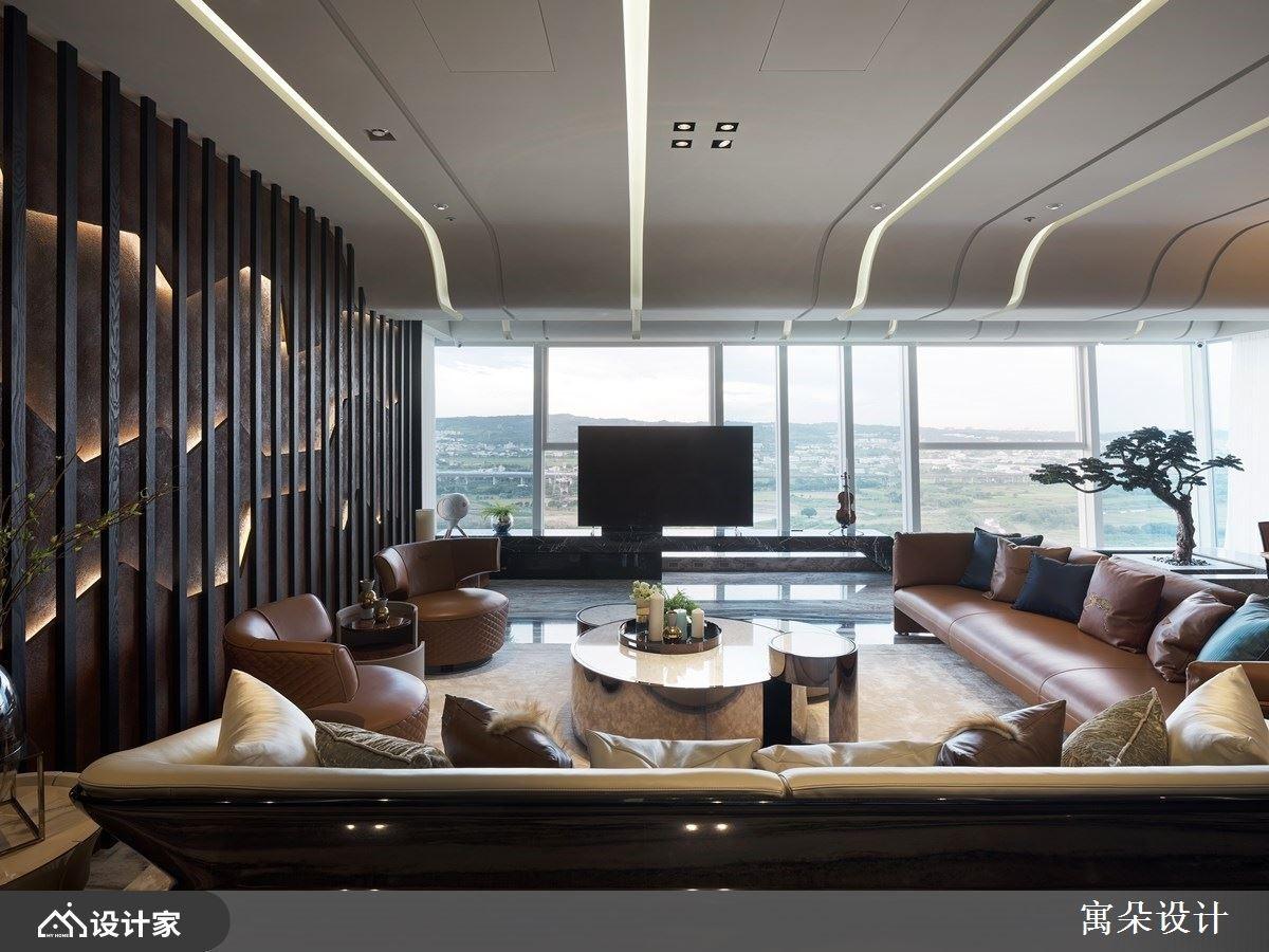 在家也能享受自然山水美景! 精致工艺订制新中式风豪邸