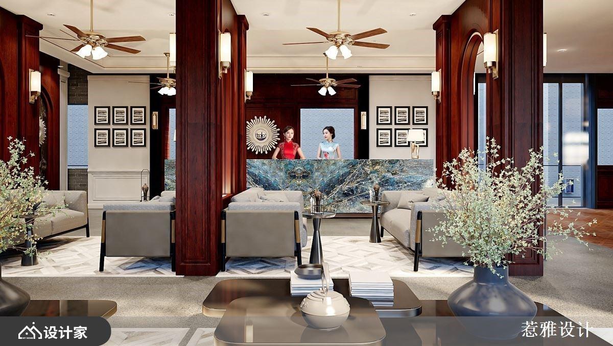 重返民国荣耀时刻 老屋再造清丽雅致的风格酒店
