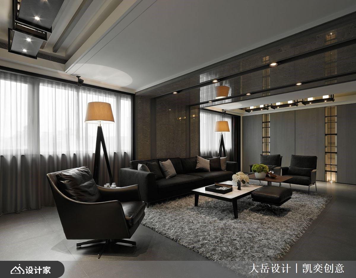永的现代风典范!打造串联情感的的居家回廊