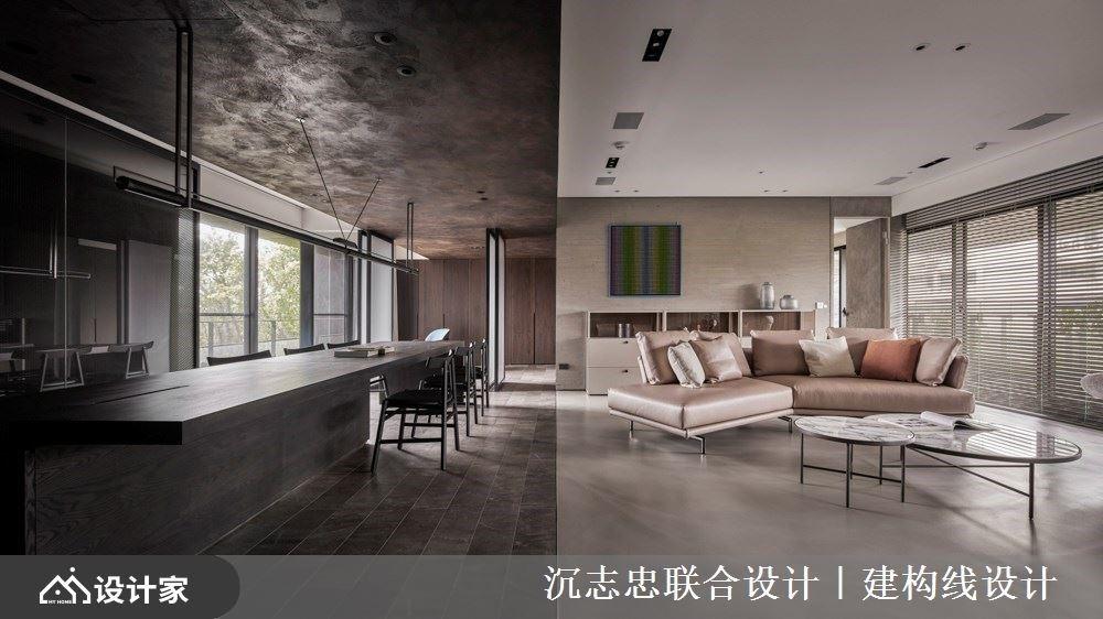生活在自然里,真实朴素的材质打造现代风家屋