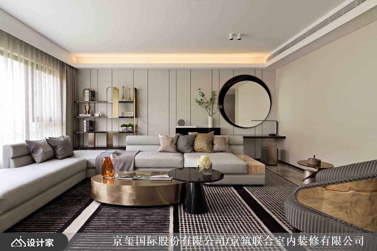 寓无形之美于有型宅邸!现代艺术豪宅用定制家具重译生活