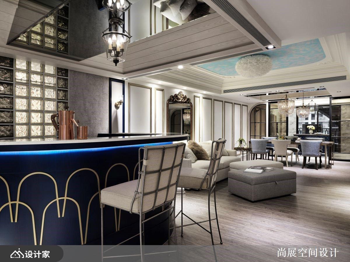 华丽交谊厅 X 贵族私人空间 烘托女性格调的新古典大户型
