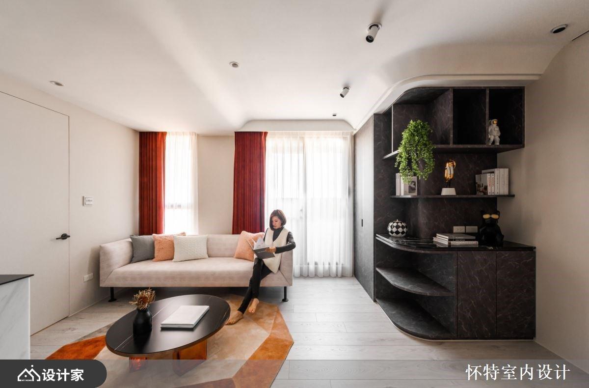 时尚字典里没有低调!融合复古与华丽的现代风美形居宅