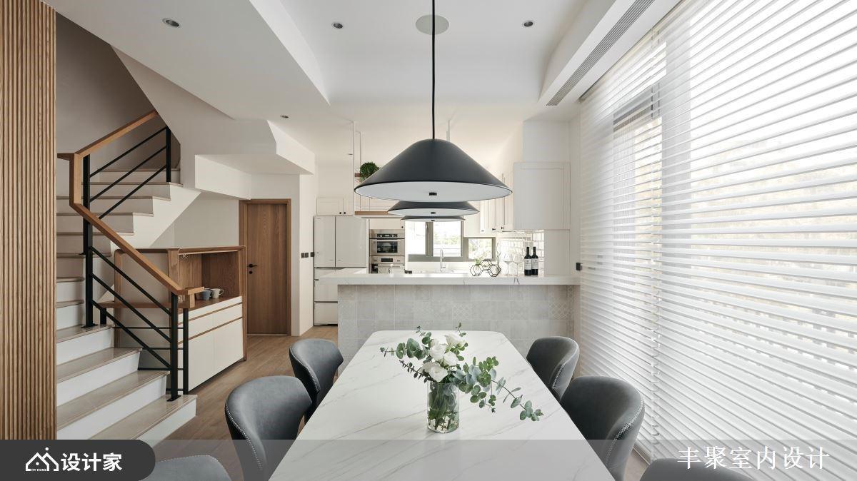 第三次装修,终于找对了!轻美式厨房、回字型主卧,让独栋楼焕然一新