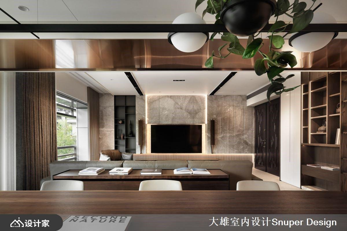被自然拥抱!调和木质与石材的优雅底蕴,走进光写下的宅邸故事