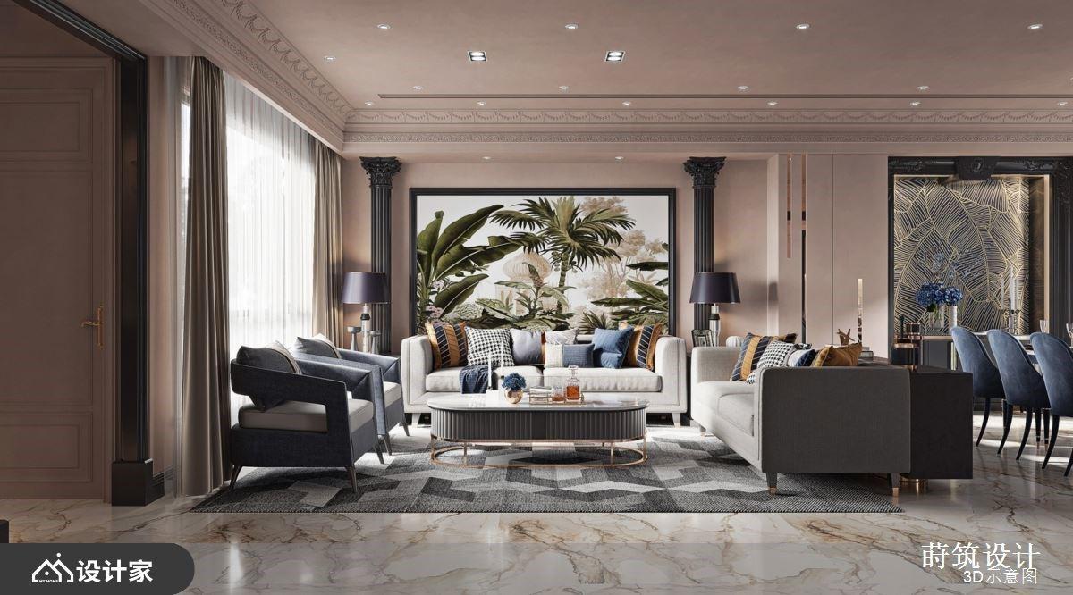 优雅法式古典遇见热带风景!退休后住进混搭风别墅,迎接多代同堂的美好