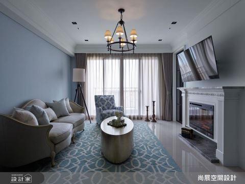 注入沉静灰蓝,创造清新美式的优雅质感