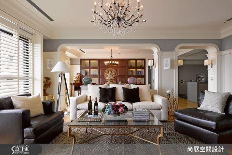 巧用拱门与家具,重现美式古堡氛围