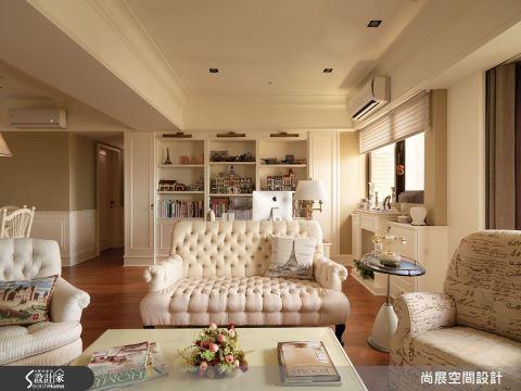 美式家具与碎花点缀,体验异国庄园风情