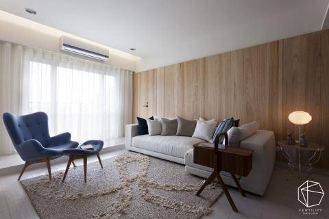 高逼格木墙装修,打造一个有温度的家!